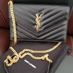 Authentic YSL Envelope wallet on chain
